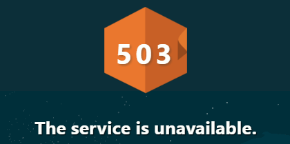 503 Service Unavailable Troubleshooting