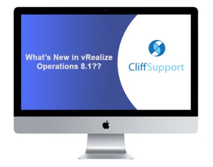 What's New in vRealize Operations 8.1??